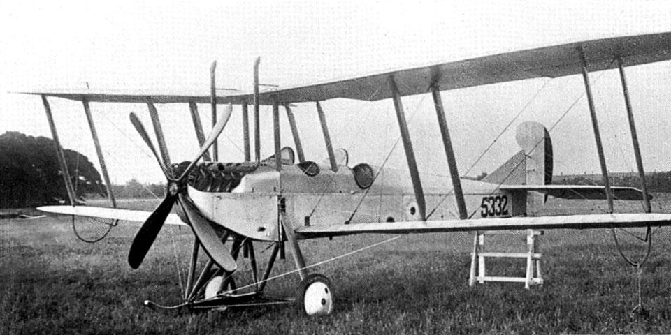 Armstrong-Whitworth F.K.3 Little Ack