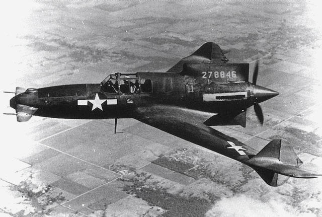 Curtiss-Wright P-55 Ascender